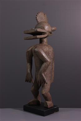 Art tribal - Figure masculine Chamba
