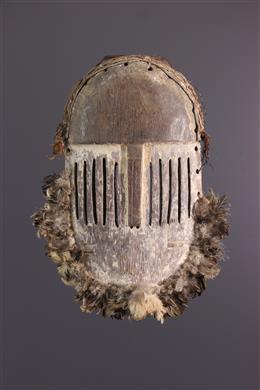 Art tribal - Masque plat Yela