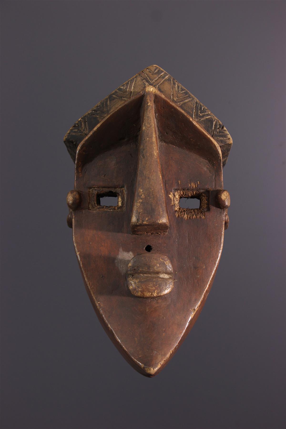 Masque Lwalwa - Art tribal
