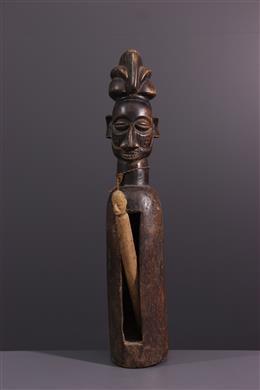 Art tribal - Tambour à fente Yaka Mukoku ngombu