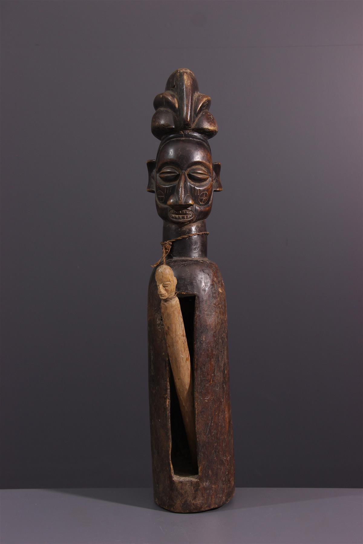 Tambour Yaka - Art tribal