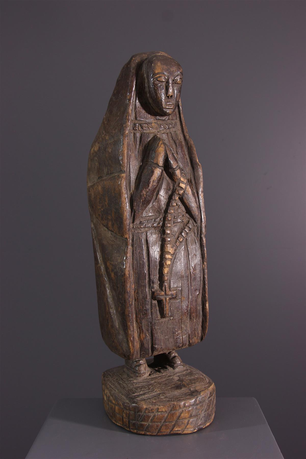 Vierge Kongo - Art tribal
