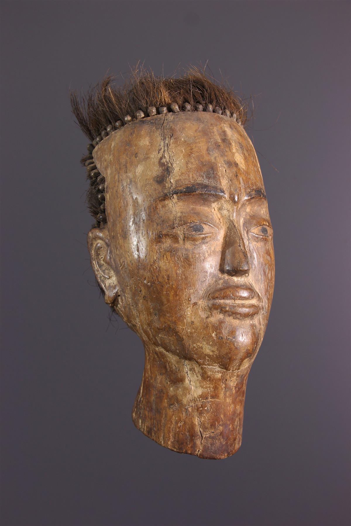 Tête Batak - Art tribal