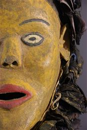 Masque africainMasque Chewa