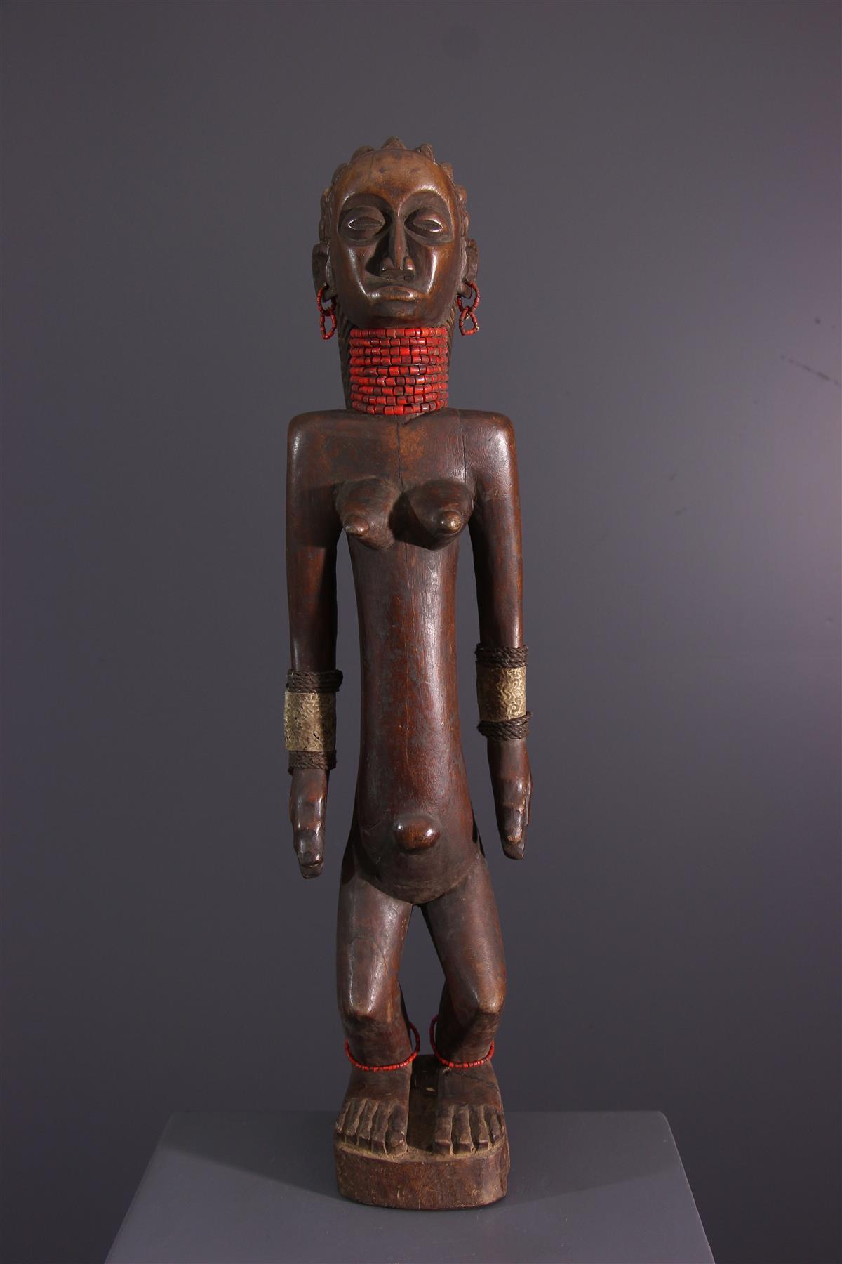 Statue OviMbundu - Art tribal