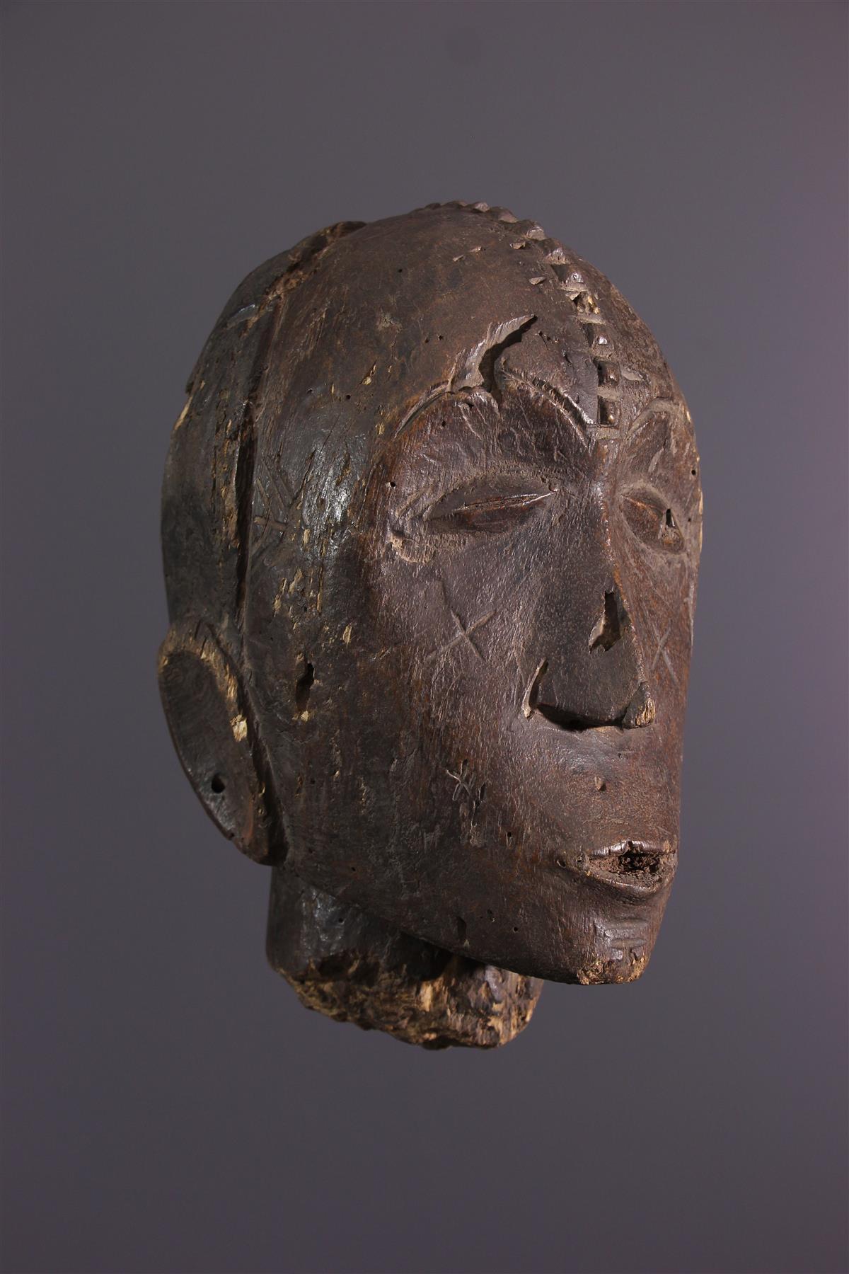 Tête Ngbandi - Art tribal