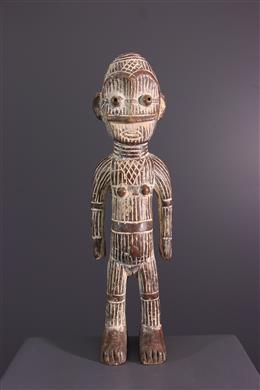 Art tribal - Statuette féminine  Metoko Kakungu