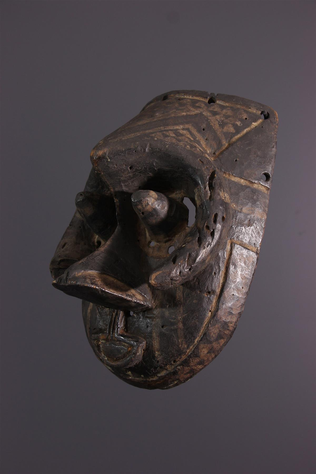 Masque Kuba - Art tribal