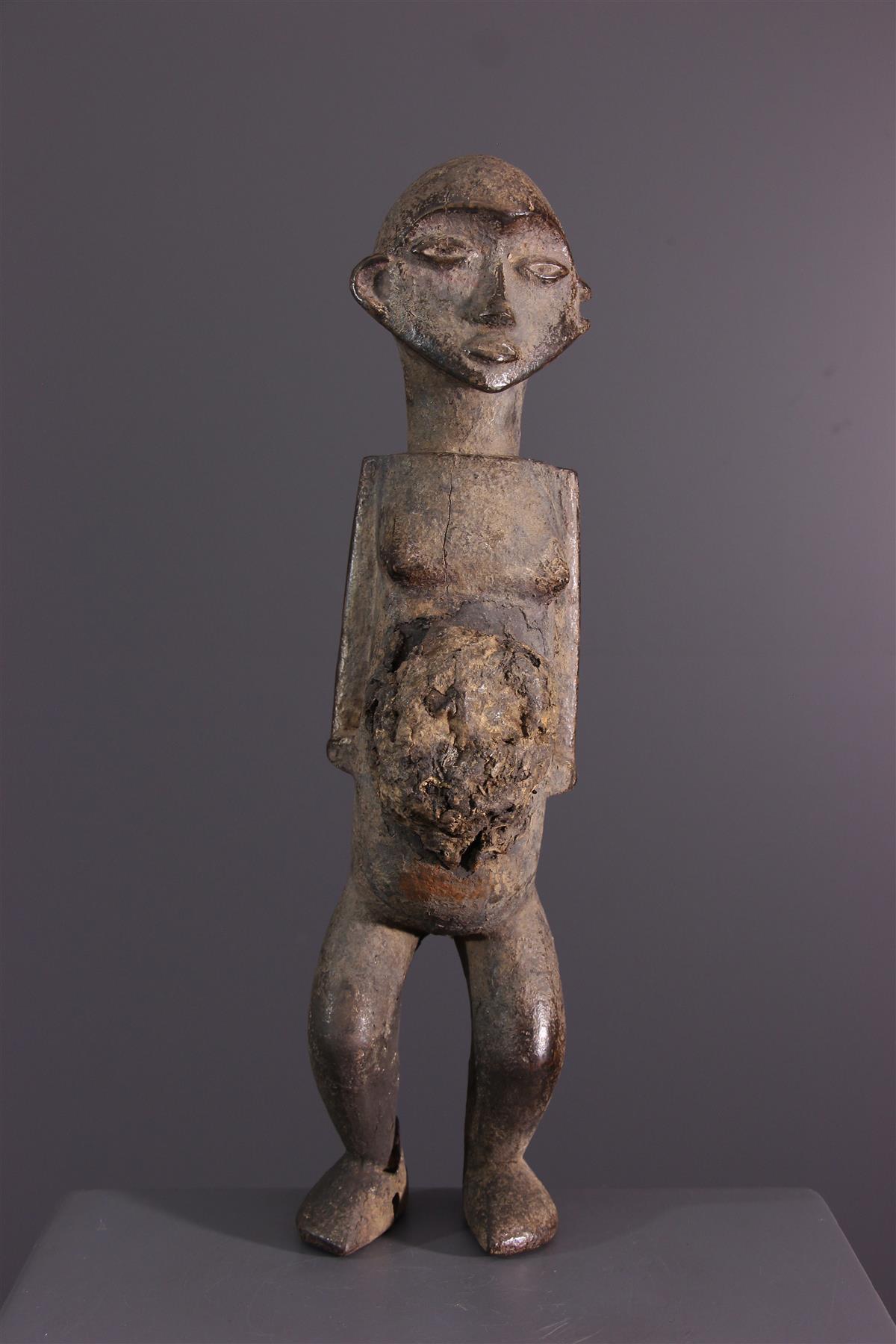 Statuette Nsundi Kongo - Art tribal