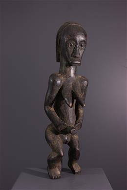 Art tribal - Figure de gardien de reliquaire du Byeri Fang