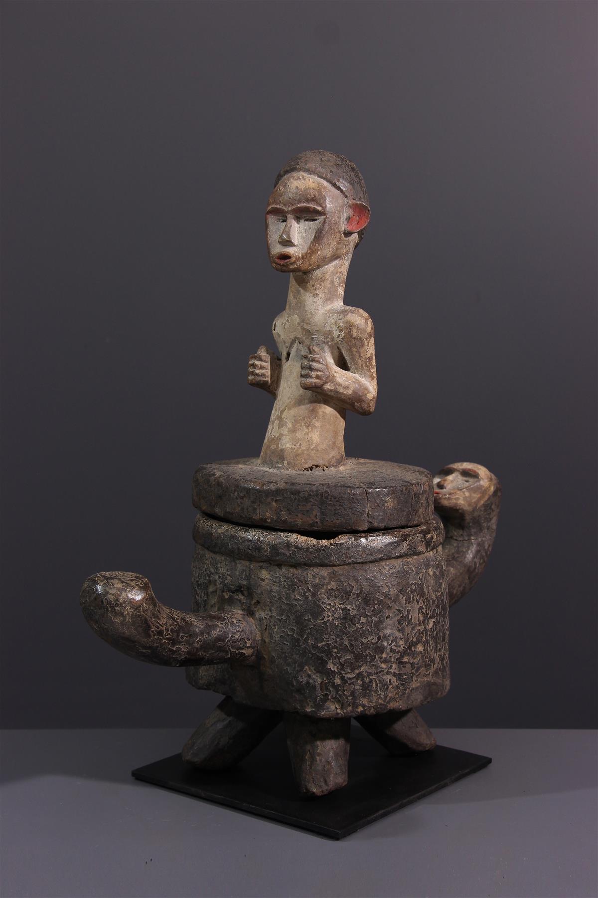 Boîte Tsogho - Art tribal