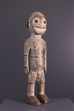 Art tribal - Statuette masculine Metoko Kakungu