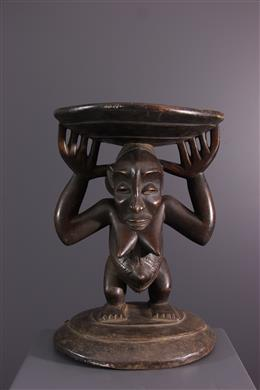 Art tribal - Tabouret guéridon Hemba/ Luba  Kihona