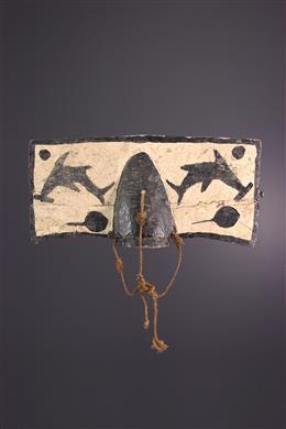 Masque Bidjogo - Art tribal
