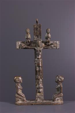 Croix Kongo - Art tribal