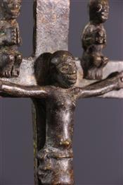 bronze africainCroix Kongo