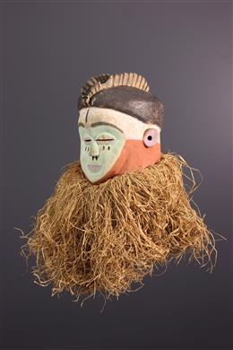 Masque Mbala - Art tribal