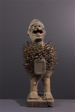 Statue Nkisi Nkondi Solongo / Woyo