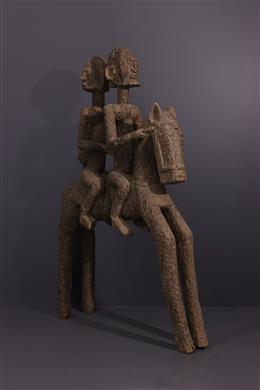 Cavaliers Dogon - Art tribal