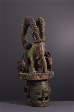 Masque Yoruba - Art tribal