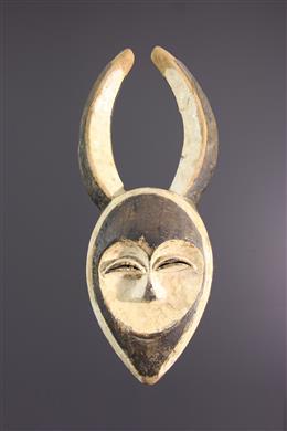 Masque Kwele - Art tribal