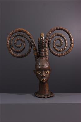 Masque Ejagham - Art tribal