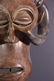 Masque africainMasque Luba