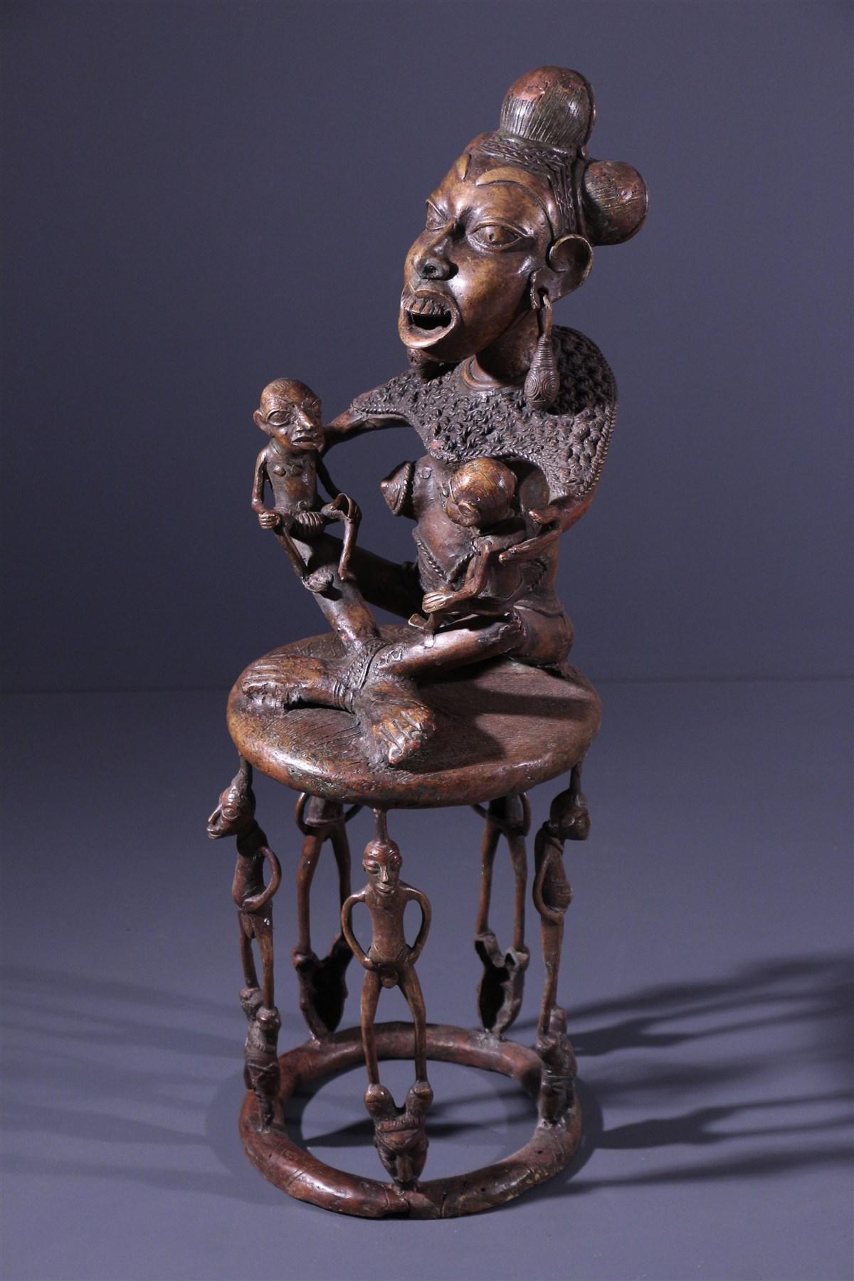 Maternité Tikar - Art tribal