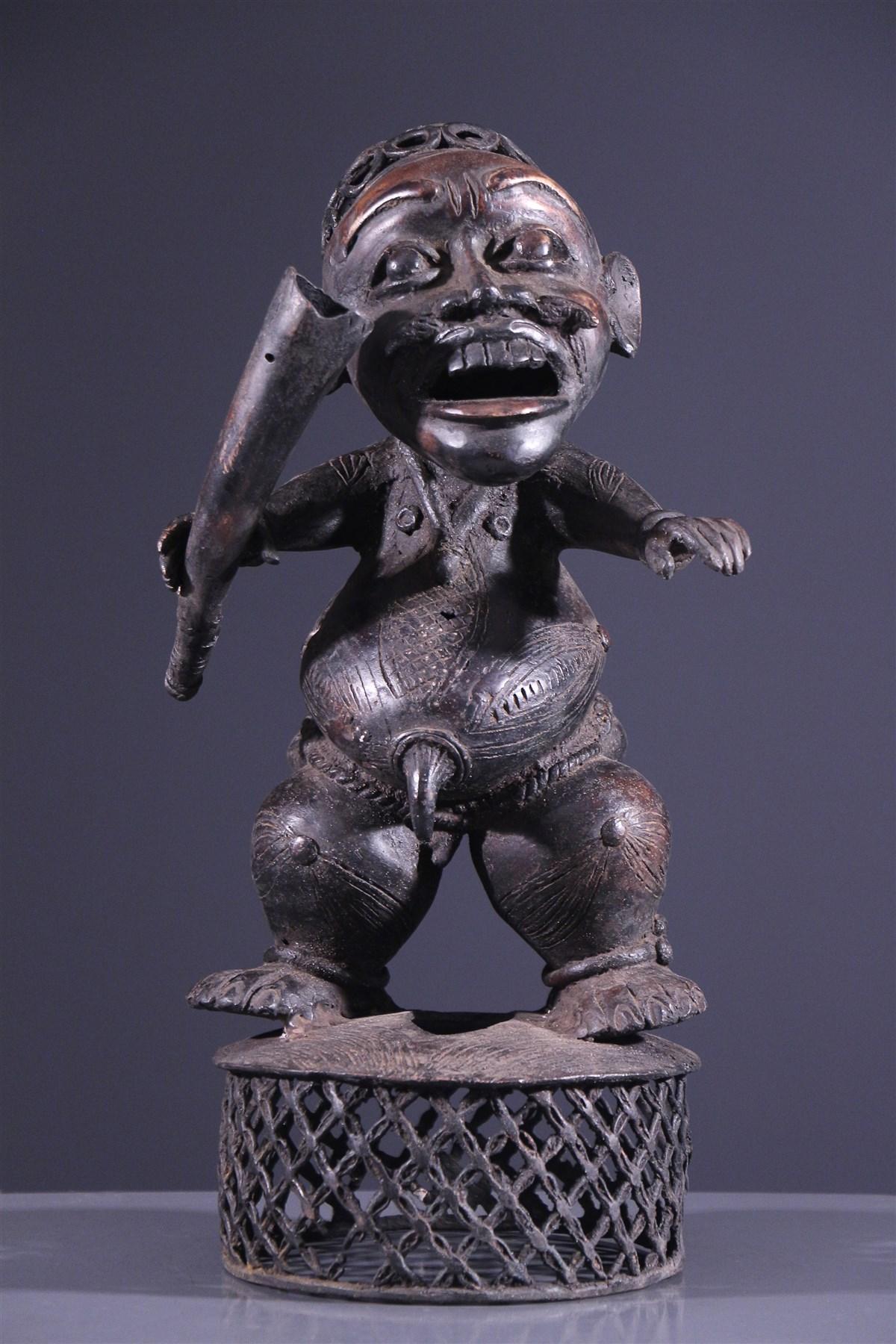 Statue Tikar - Art tribal