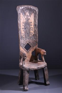Chaise de dignitaire Baoulé