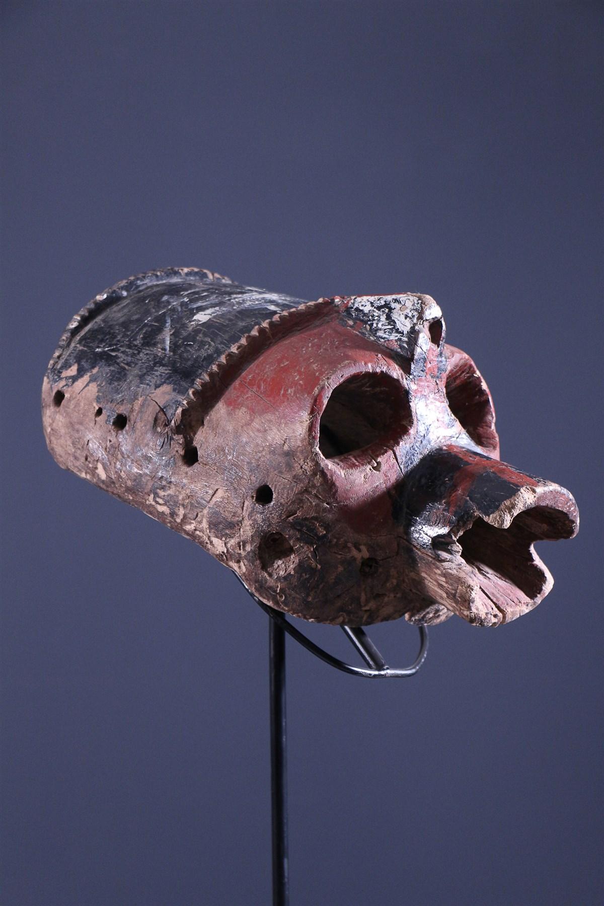 Masque féminin Mumuye - Art tribal