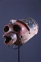 Masque africainMasque féminin Mumuye